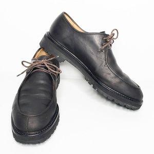 Cole Haan's Dark Brown Leather Chukka Boots Vibram